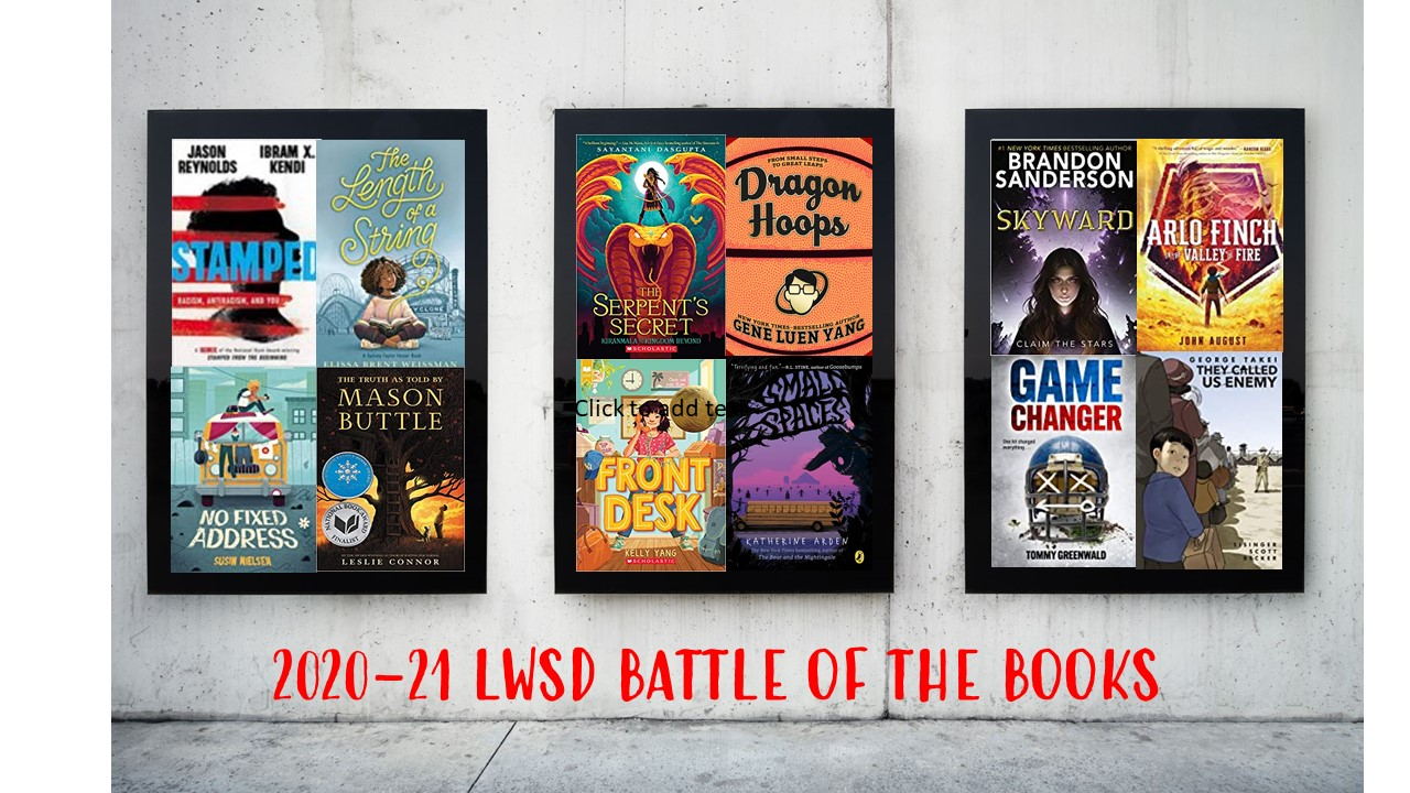 2020-21 Battle of the Books Selections